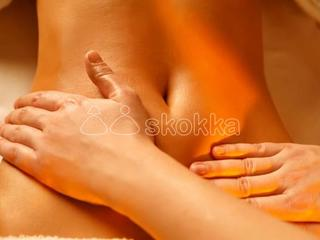 Full body massage with physical relationship.