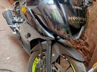 R15 v3 monster energy edition with dual channel ABS