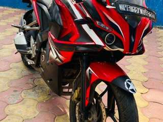 My new condition pulsar RS 200 in mint condition