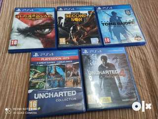 PS4 Games 3 CDs all for 600 each