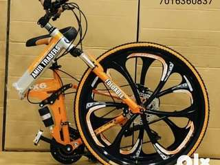 *NEW FOLDABLE BICYCLES 21 GEARS* *PRICE:15999Rs* DISCOUNT AVAILABLE