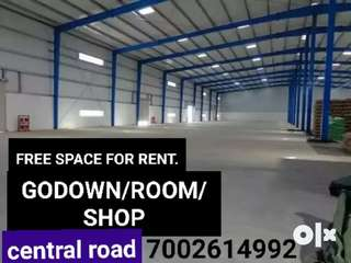 Shop for rent at central road