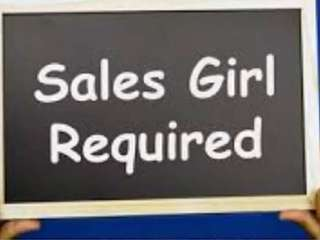 Sales girl Required for ladies garments shop