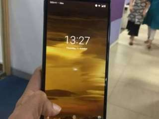 Nokia 3.1 plus with charger bill box