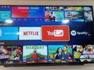 """50"""" 4k android tv with warranty new box pack"""