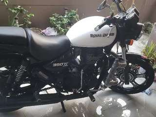 Royal enfield excellent condition hardly used