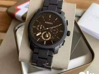Premium branded fossil chain watch CASH ON DELIVERY negotiable hurry