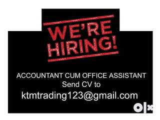 ACCOUNTANT CUM OFFICE ASSISTANT