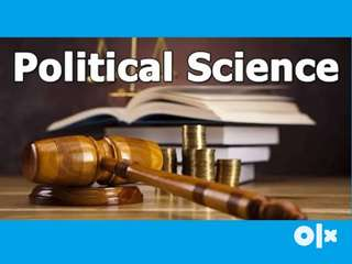 Political Science Coaching for +2 Students & +3 Honors & Pass Students