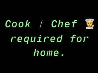 Cook required for home in Bhubaneswar.