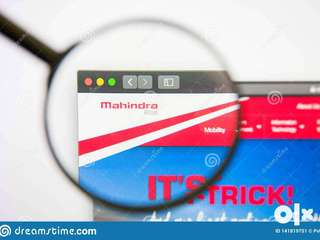 FIRST TIME EVER ONLINE MAHINDRA MOTOR REQUIREMENT FOR CANDIDATE FOR AL