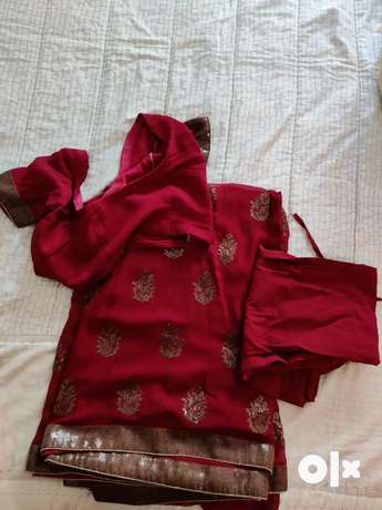 georgette-saree-with-blouse-big-0