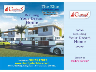 The Elite Luxury Villas Near TECHNO CITY Trivandrum 9037317017